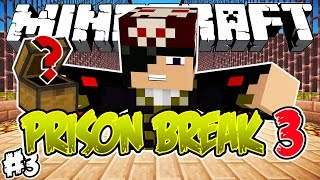 BAÚ SECRETO! - PRISON BREAK 3 - Minecraft #3