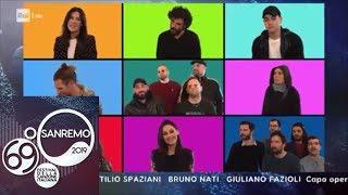 Sanremo 2019 - Tutti cantano Poppoppoppò (sigla finale)