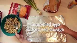 How To Cook A Breakfast Foil Pack