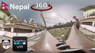 360° GoPro Omni VR: Street Football: Nepal Style | Kathmandu, Nepal