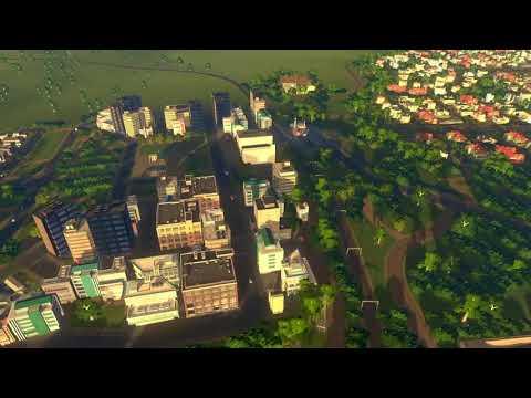 Cities: Skylines PS4 Hudson Bay pt3 testing cinematics