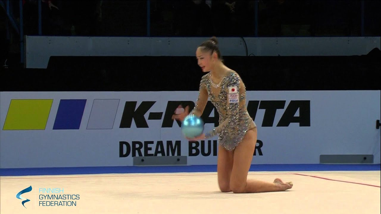 Minakawa Kaho Ball - Rhythmic Gymnastics World Cup 2016 Espoo
