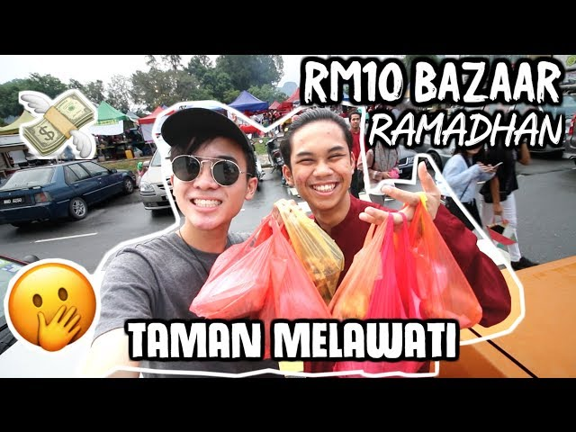 WE CAN ONLY SPEND RM10 IN BAZAAR RAMADHAN