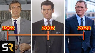 The James Bond Timeline Explained From 1962 To 2020