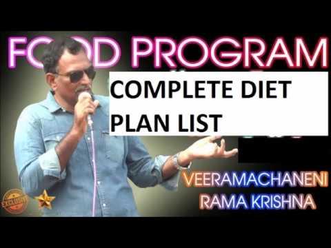 VRK Diet Plan Telugu