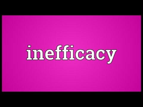 Header of inefficacy