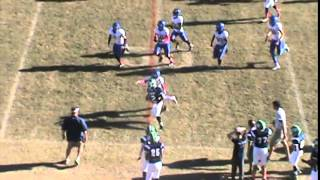 Ji Durham-Wade 8th grade football season-Big Hit