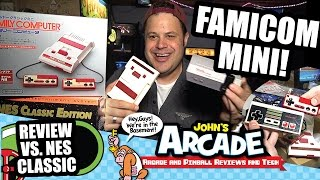 Famicom Classic Mini Review & unboxing. Is it better than the Nintendo NES Classic Edition Mini?