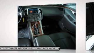 2012 Buick LaCrosse Minneapolis St. Cloud & Monticello MN B15-108A