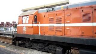 R111與79次觀光列車分離hsuhanyu
