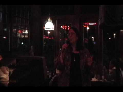 """Somewhere"" Adrienne Slomin at PIZZERIAUNO Chicago Grill Lynbrook, N.Y. 10-8-09"