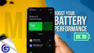 Enable MIUI 12 Battery booster   MIUI 12 Battery Drain FIX   Increase  battery Life in MIUI 12⚡⚡ screenshot 5