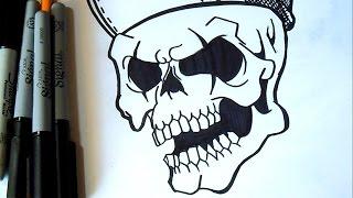 как рисовать  один череп | Граффити(Рисование Граффити музыка (Audiomicro.com), 2014-10-15T05:41:17.000Z)