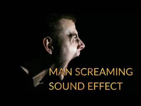 Man Scream Sound Effect
