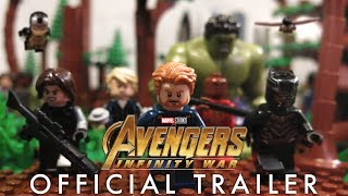 Avengers: Infinity War Trailer in LEGO!