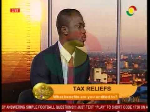 NewDay - Discussing Tax relief Benefits and Entitlements - 21/4/2015