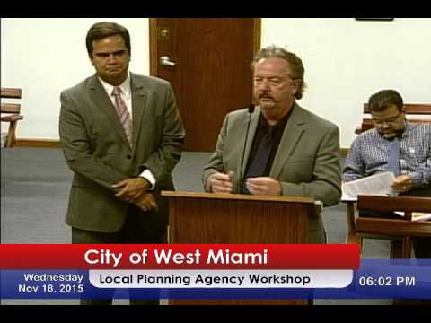 Local Planning Agency Workshop 11/18/2015