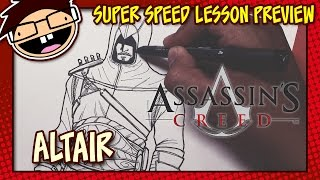 Lesson Preview: How to Draw ALTAIR (Assassin