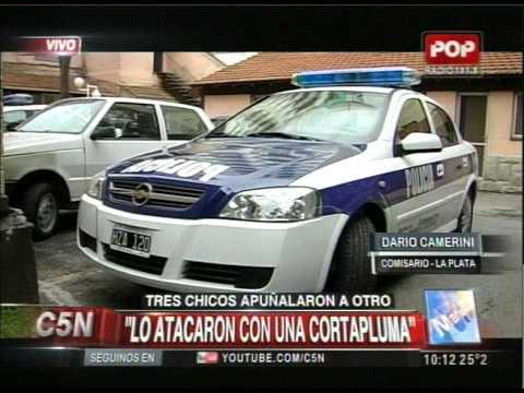C5N - POLICIALES: TRES CHICOS APUÑALARON A OTRO EN LA PLATA
