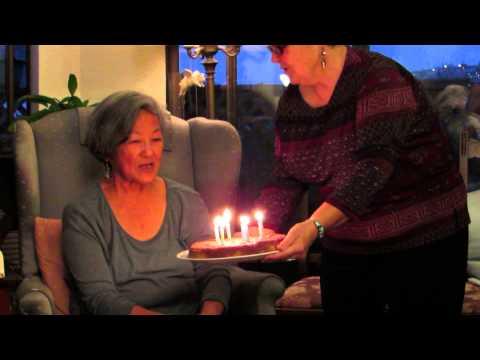 Nellie Wong's birthday celebration.