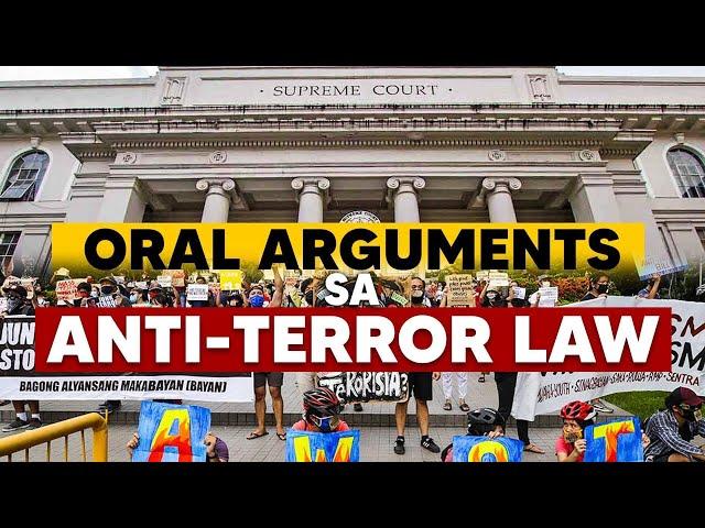 DAY 7: Oral Arguments ng Korte Suprema sa Anti-Terror Law