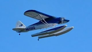 Carbon Z Cub e-flite RC Water Plane Wasserflugzeug Demo Flight in Plau am See *1080p50fpsHD*