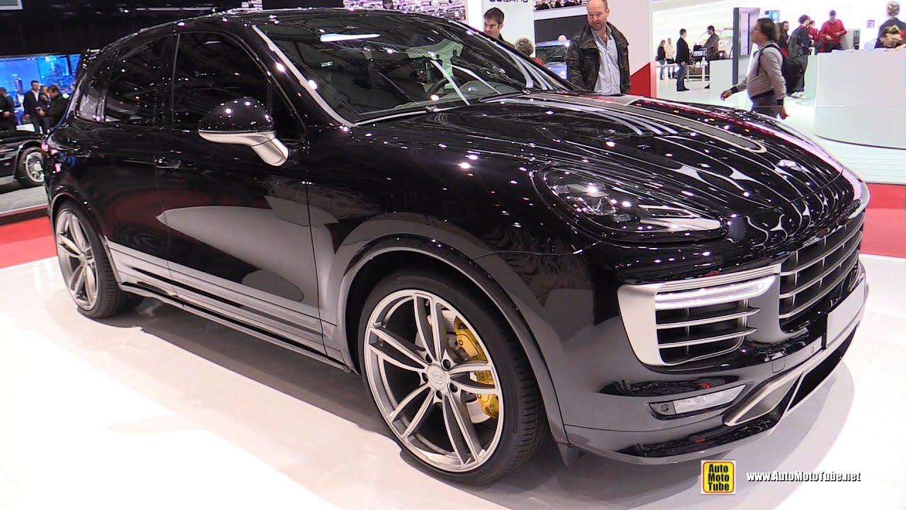 2015 porsche cayenne techart exterior and interior walkaround 2015 geneva motor show youtube