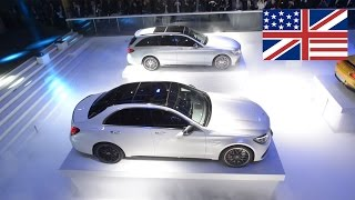 2015 Mercedes C63 AMG / Mercedes-AMG C63 in Paris / World premiere / debut  (English)