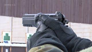 Střelecký výcvik z pistole u 74 lmopr
