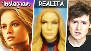 Instagram vs. Realita