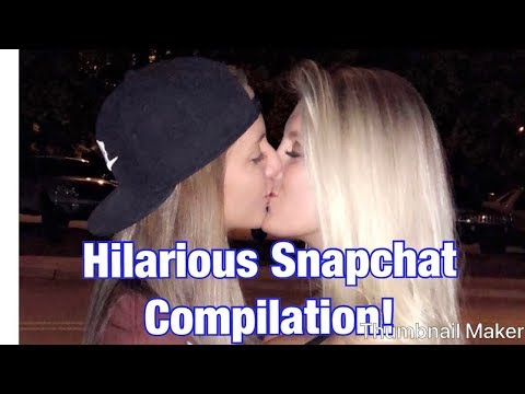 FUNNY SNAPCHAT COMPILATION!--from our first 2 months of dating