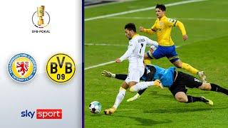 Eintracht Braunschweig - Borussia Dortmund | Highlights - DFB-Pokal 2020/21 | 2. Runde