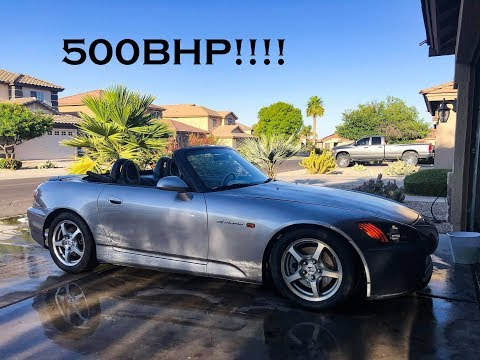 I Bought a 500HP TURBO S2000!
