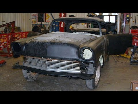 Abandoned 1956 Chevrolet Bel Air Restoration Project