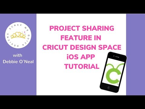 Project Sharing Feature for Cricut Design Space  iOS App