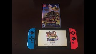 Wild Guns Reloaded Nintendo Switch Unboxing