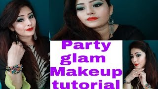 Party  glam makeup #tutorial# 2018