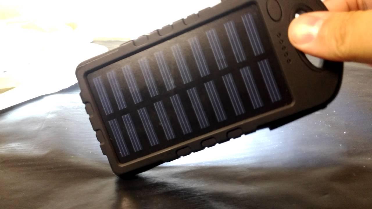 8000mah Solar Panel Power Bank Youtube Battery Charger Based Multipurpose Circuit