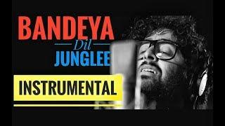 Bandeya - Intrumental - Karaoke  Arijit Singh   Dil Junglee  