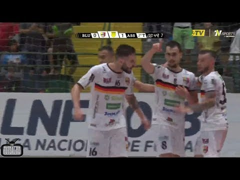 Gols Blumenau 1 x 1 Assoeva - 5ª Semana Liga Nacional de Futsal 2018 20042018