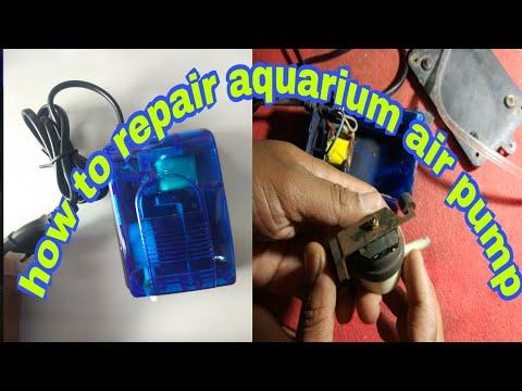 How To Repair Aquarium Airpump