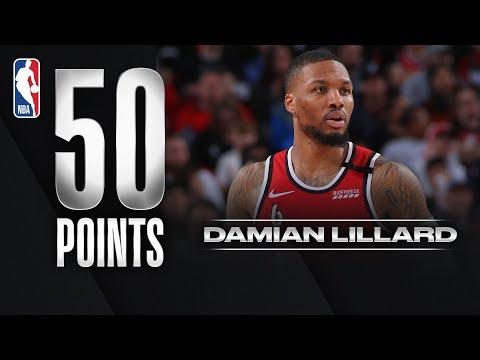 Damian Lillard Scores 50 PTS In Home Game