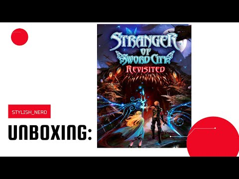 UNBOXING: Savior of Sapphire Wings / Stranger of Sword City Revisited Nintendo Switch  