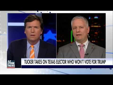 Electoral College Voter Christopher Suprun says he will not vote for Trump