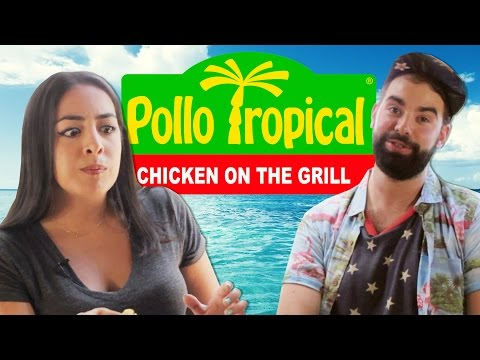 Miami Natives Try Pollo Tropical For The First Time