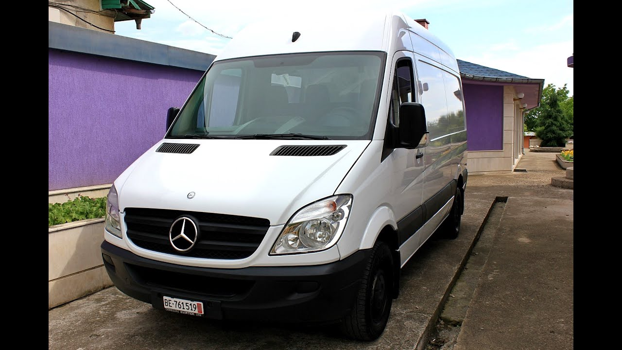 mercedes sprinter 315cdi 2007 youtube. Black Bedroom Furniture Sets. Home Design Ideas