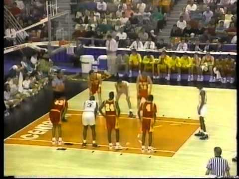 03/20/1992 NCAA East Regional 1st Round:  #10 Iowa State Cyclones vs.  #7 UNC-Charlotte 49ers