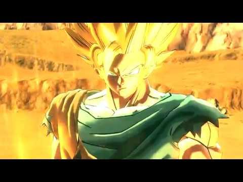 Super Saiyan 2 Goku Vs Super Saiyan 2 Majin Vegeta Xenoverse 2 Mod