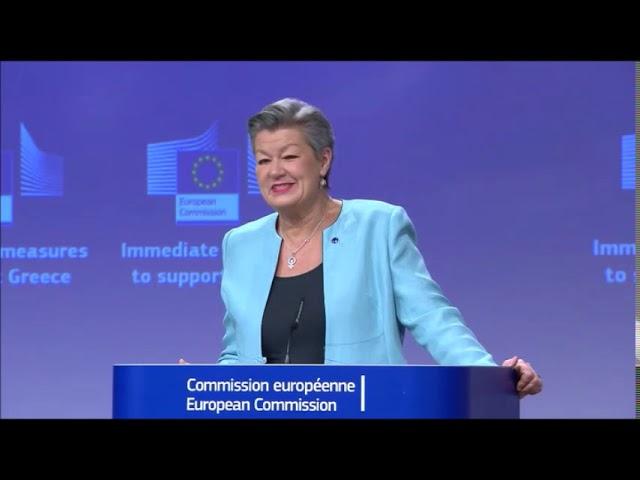 Ylva Johansson i EU