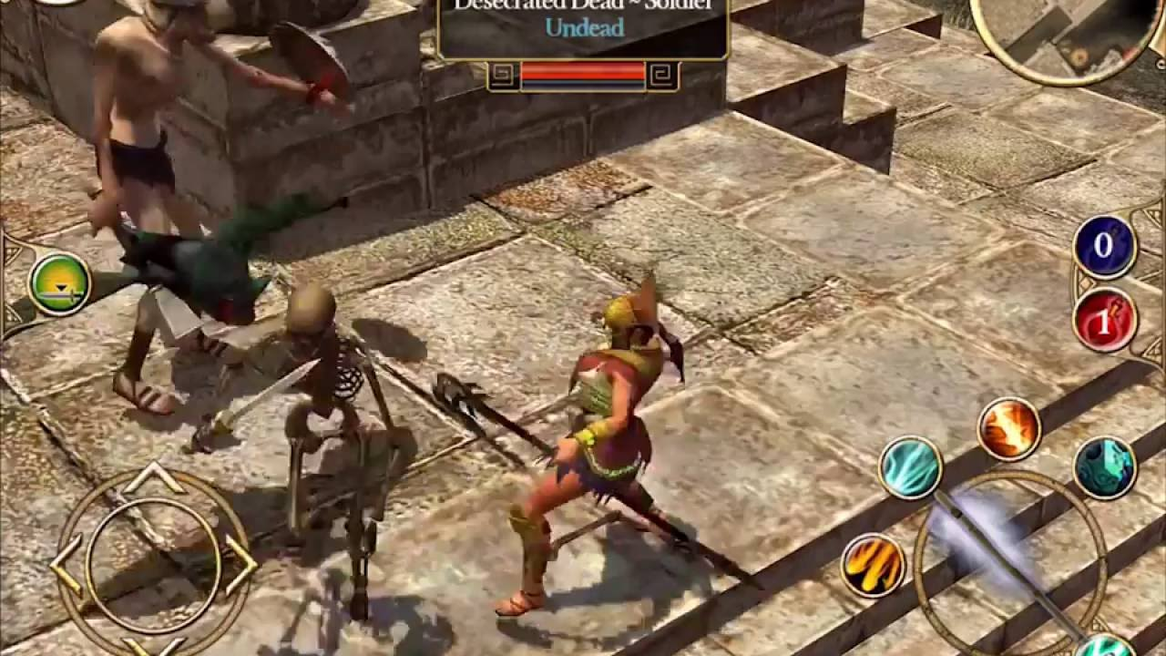 Titan Quest - Android official trailer